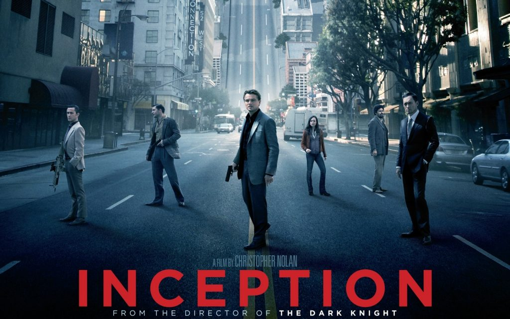 Top 10 sci-fi films inception