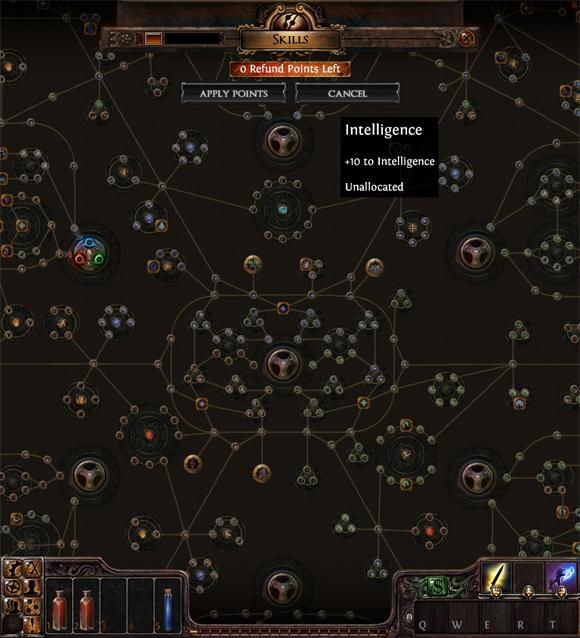 Path of Exile Skill Tree Screenshot