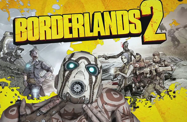 Borderlands 2 official box art