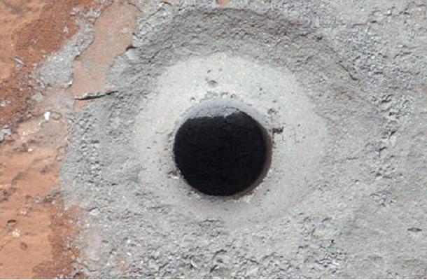 mars soil Mars Curiosity
