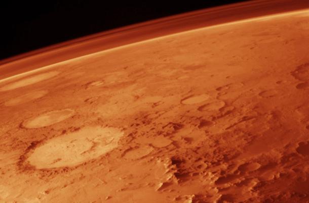 Mar Curiosity - Surface of Mars