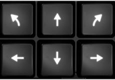 Additional Directional Arrow Keys