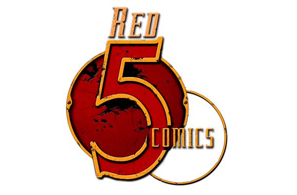 atomic robo red 5 comics