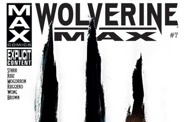 Marvel wolverine max #7