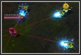 3 laser turrets