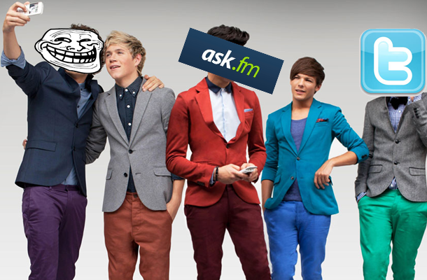 Twitter, ask. Fm, trolls, one direction all made the news