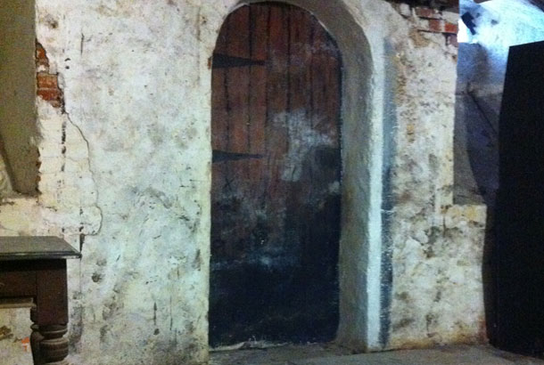 "The ""bbc door"" at tredegar house"