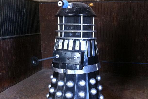 Dalek at tredegar house
