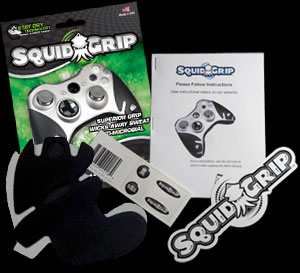 Everything included in your Squid Grip packet