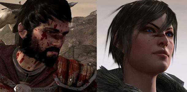 Male and Female Hawke
