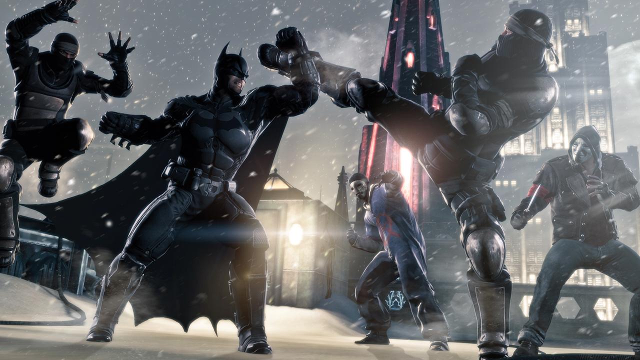 Batman delivers both justice and brain damage