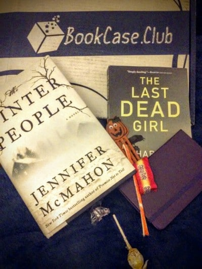 Bookcase club, thrill seeker box, subscription unboxing