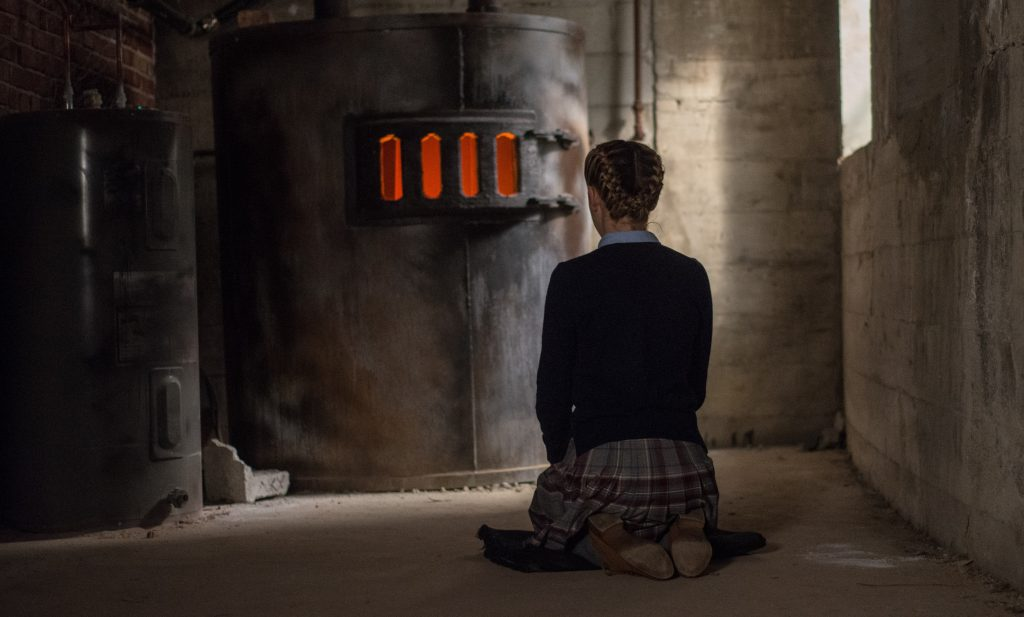 The Blackcoat's Daughter, horror movie, movie review, kiernan shipka