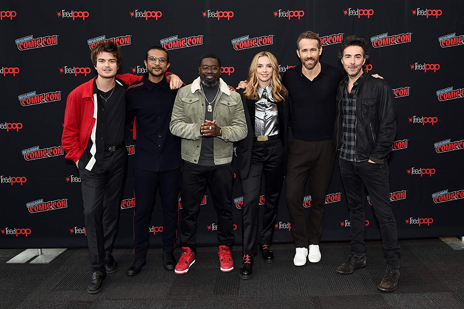The cast of 'Free Guy' at NYCC 2019 (Source: IMDB)