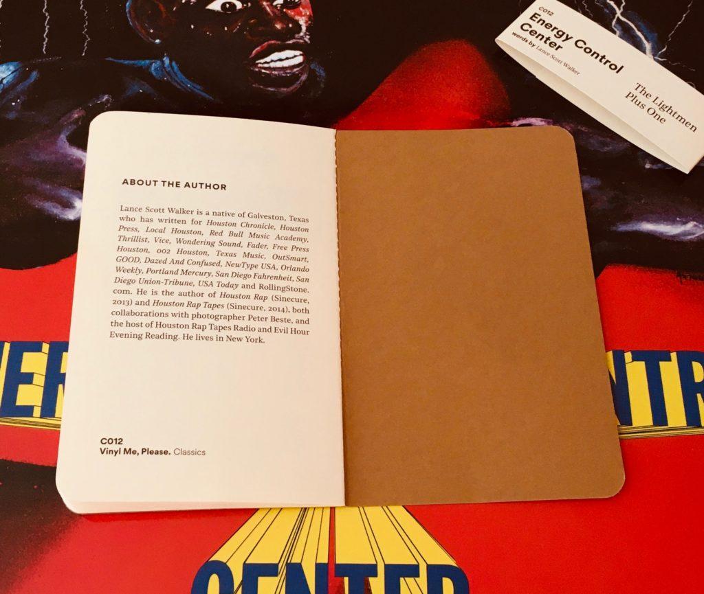 Geek insider, geekinsider, geekinsider. Com,, vinyl me, please september edition: the lightmen plus one - energy control center, culture, entertainment, events, geek life