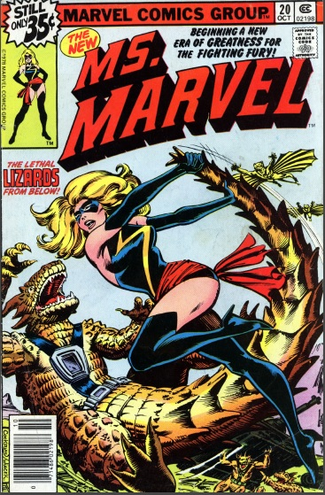 Ms. Marvel, captain marvel reading guide
