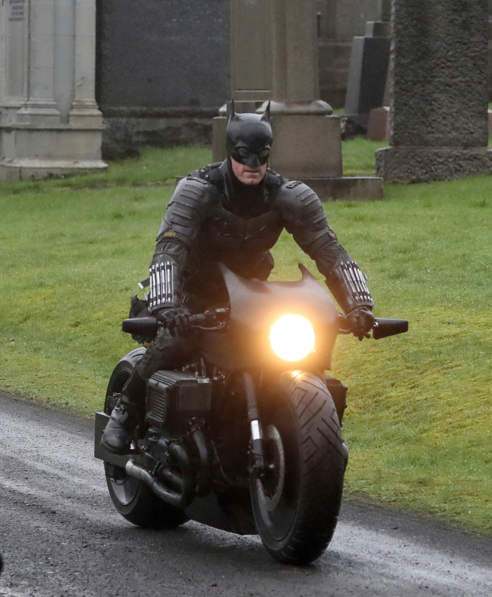 The batman batcycle