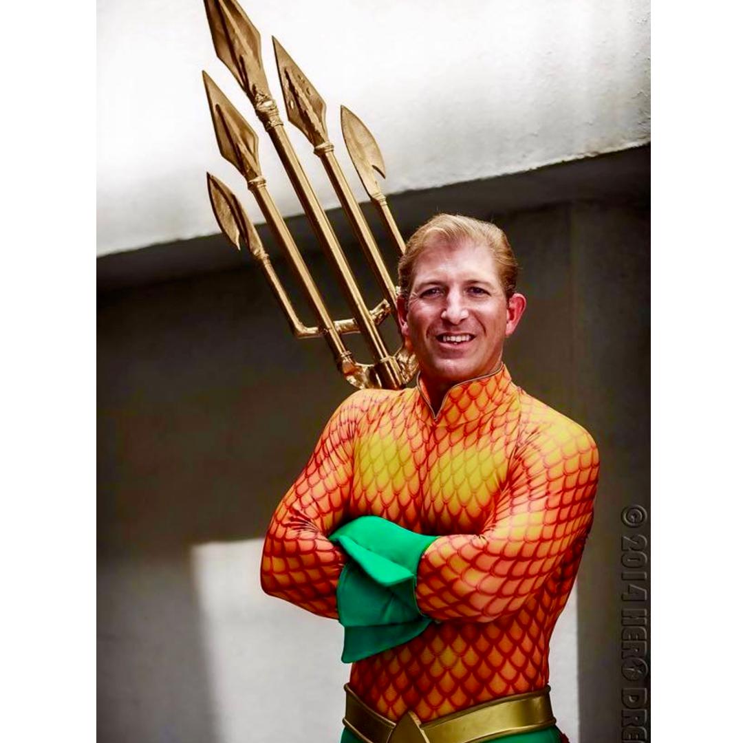 Rick stafford, the true aquaman, cosplay, geek insider, geek out virtual con 2020