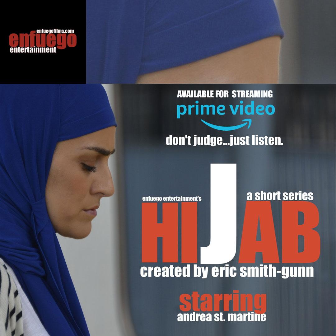 Enfuego entertainment, hijab, pam meisl-smith, eric smith gunn, geek out virtual con 2020, geek insider