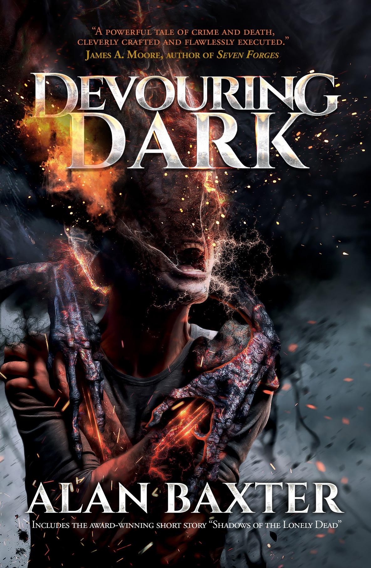 Alan baxter, author, devouring dark, horror, geek out virtual con 2020