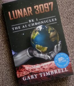 Gary Timbrell, LUNAR 3097, science fiction, sci-fi, review, syfy, book review, Geek Insider, merej99, Meredith Loughran, Lady Geek