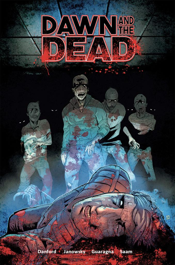 Austin Janowsky, Dawn and the Dead, comic book, Terraform Comics