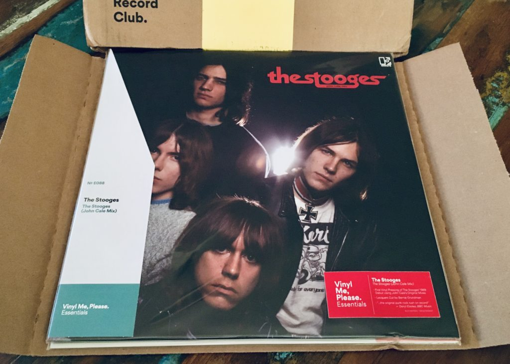 Geek insider, geekinsider, geekinsider. Com,, vinyl me, please april edition: the stooges - the stooges (john cale mix), geek life, culture, events, featured, music, music, reviews