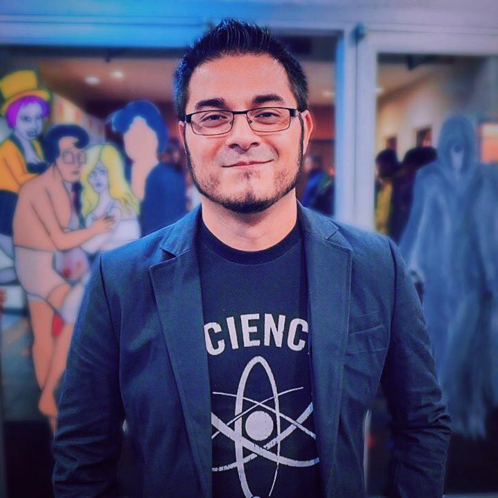Adam Gonzalez is coming to Geek Out Virtual Con 2020