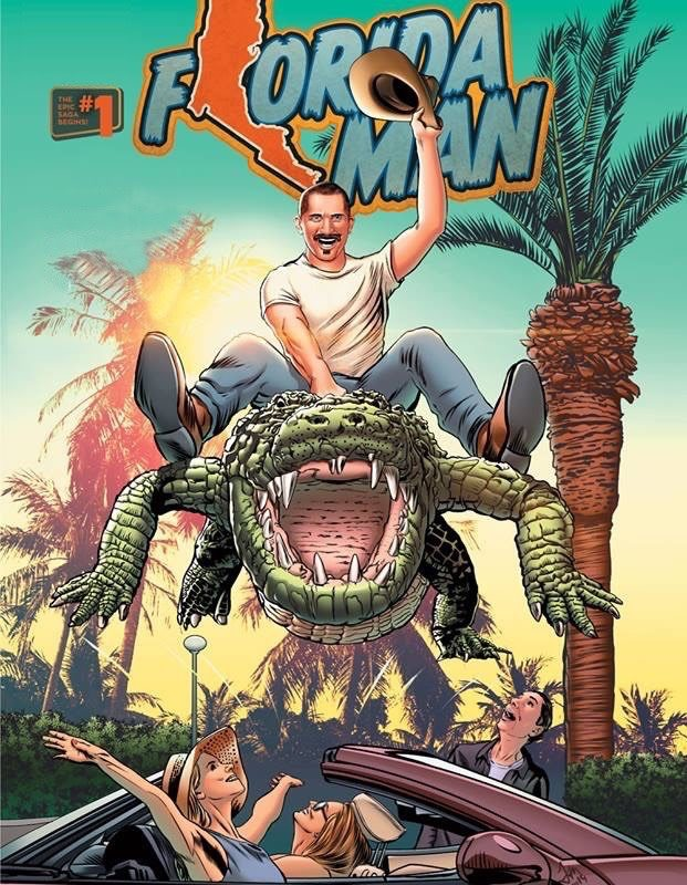 Florida Man graphic novel by Mike Baron
