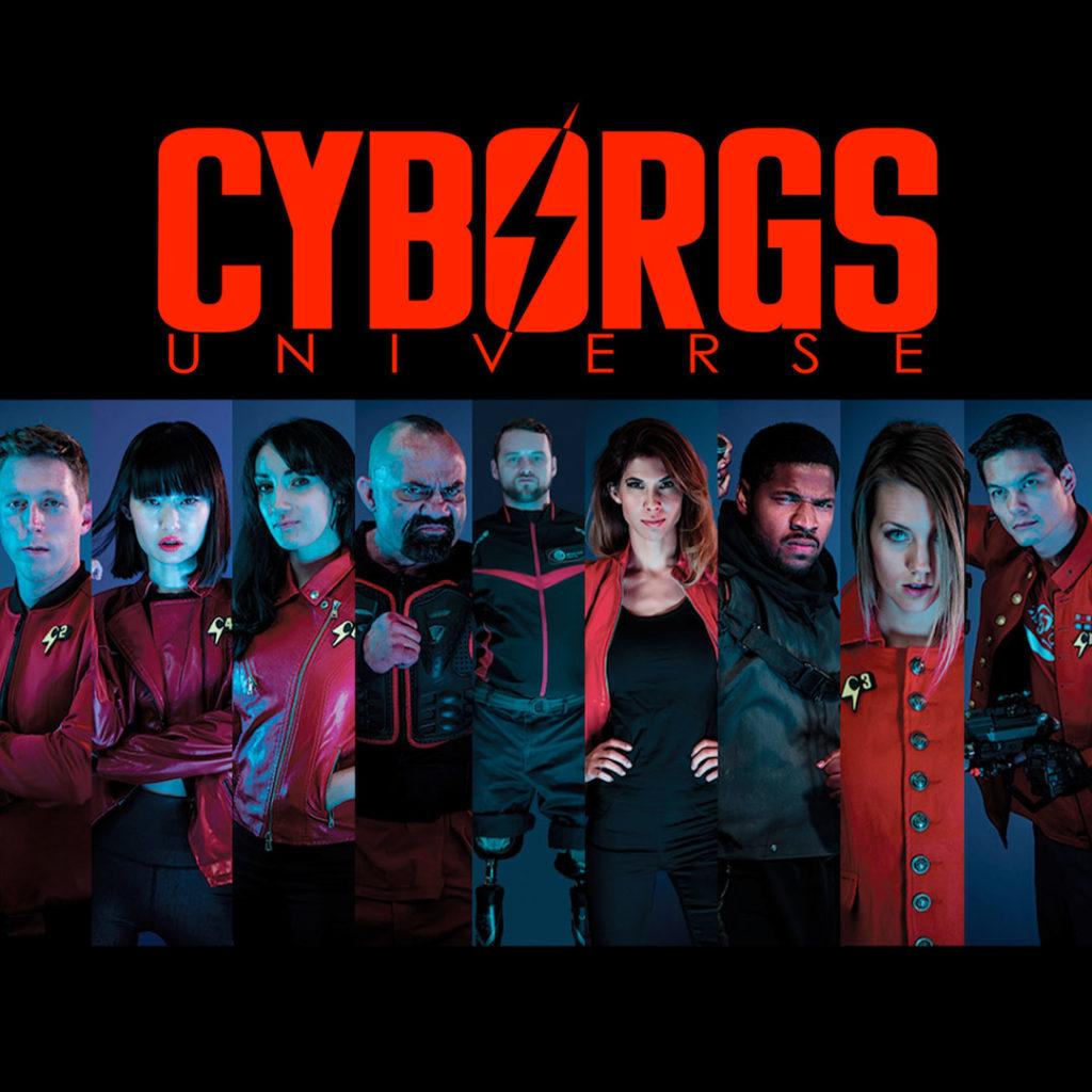 Geek out virtual con 2020, geek insider, cyborgs universe