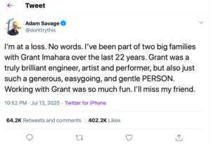 Grant imahara