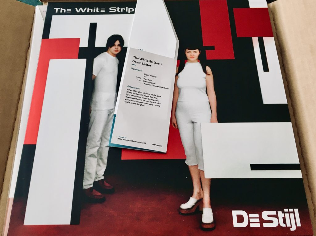 Geek insider, geekinsider, geekinsider. Com,, vinyl me, please june edition: the white stripes - de stijl, culture, entertainment, events, featured, geek life, music, music, reviews