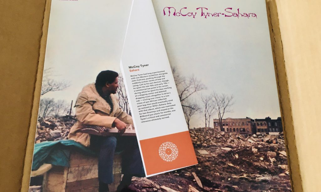 Geek insider, geekinsider, geekinsider. Com,, vinyl me, please july edition: mccoy tyner - sahara, culture, entertainment, events, featured, geek life, music, reviews