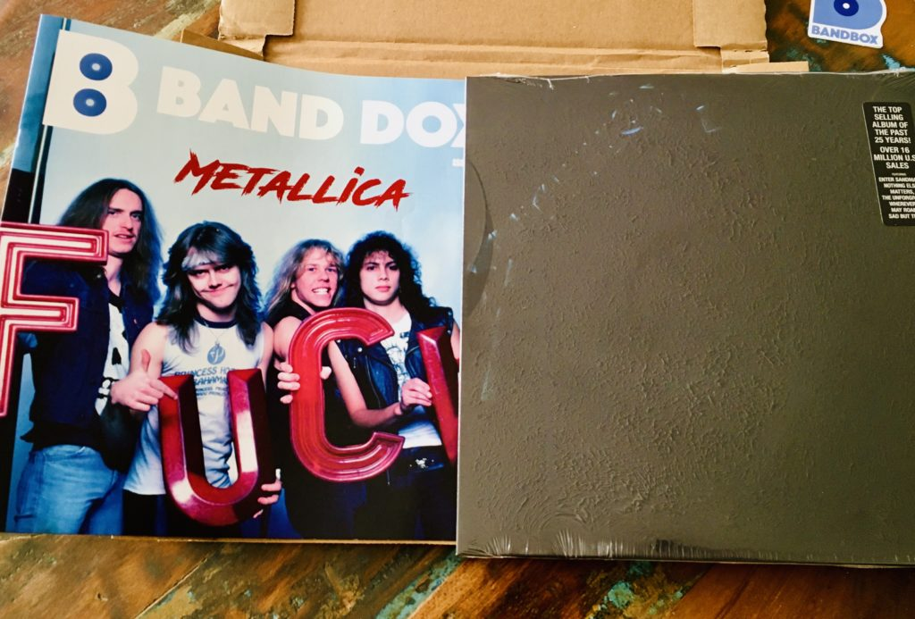 Geek insider, geekinsider, geekinsider. Com,, bandbox unboxed vol. 13 - metallica, uncategorized