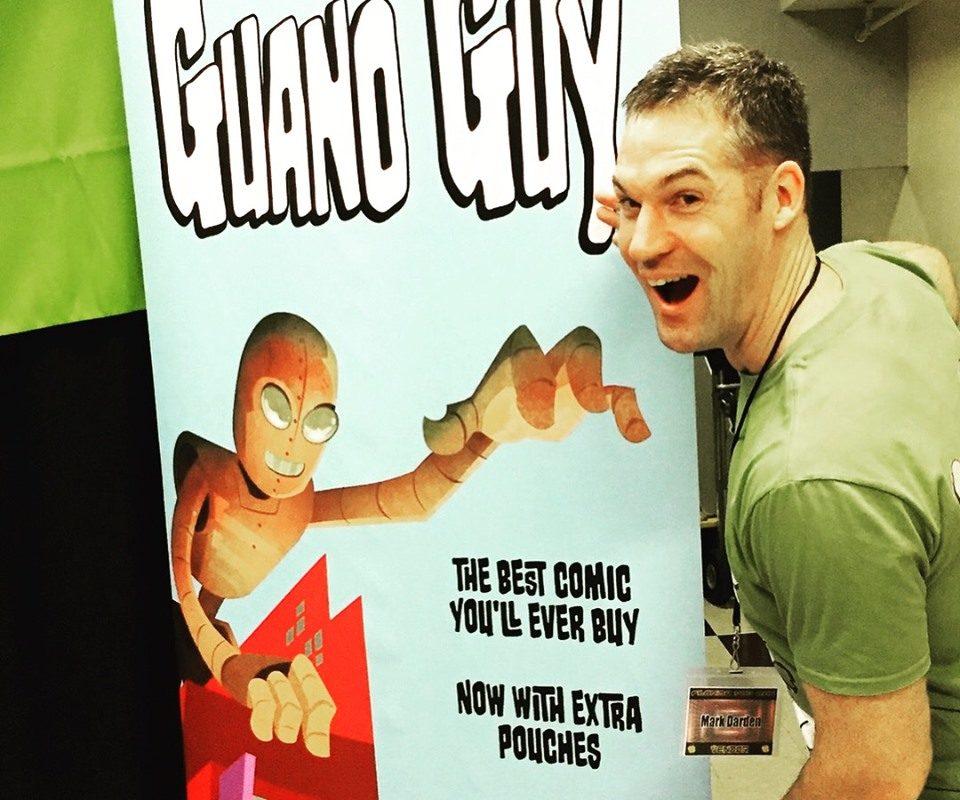 Mark darden, the guano guy, terraform comics, comic books, humor, crowdfunding, kickstarter