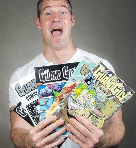 Mark darden, the guano guy, terraform comics, comic books, comics, humor