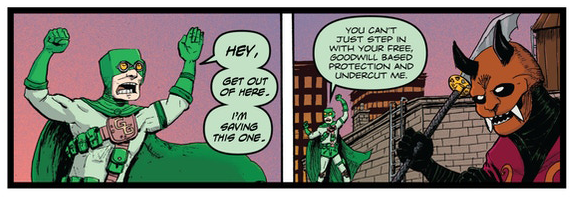 Guano guy, mark darden, comics, terraform comics