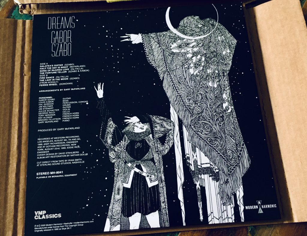 Geek insider, geekinsider, geekinsider. Com,, vinyl me, please november edition: gabor szabo - dreams, culture, featured, geek life, music, reviews, what's hot