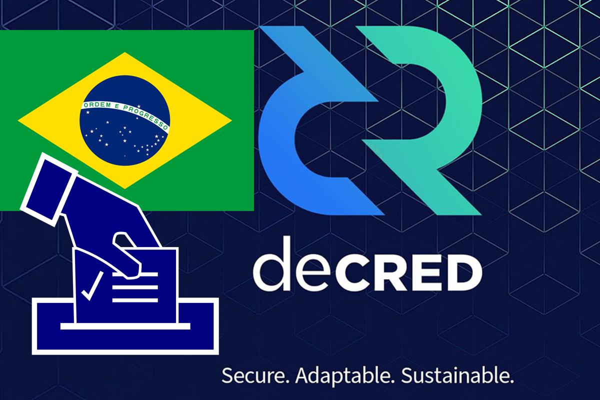 Brazil Implements Decred Blockchain For 2020 Municipal Elections • Geek Insider