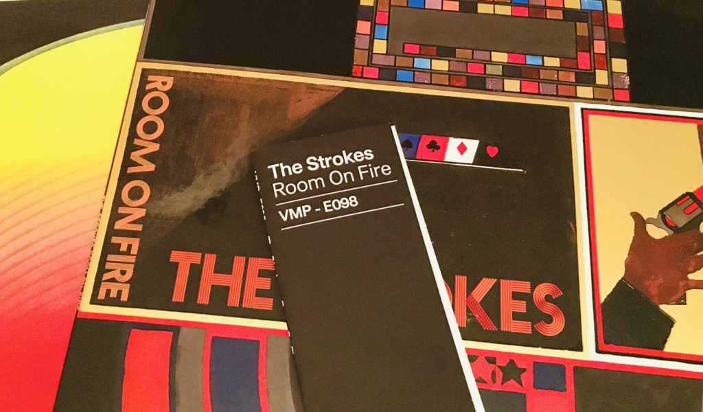 Geek insider, geekinsider, geekinsider. Com,, vinyl me, please february unboxing: the strokes 'room on fire', culture, featured, geek life, music, reviews