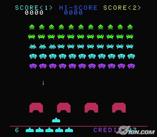 Space invaders atari