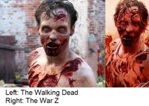 Walking dead and war z
