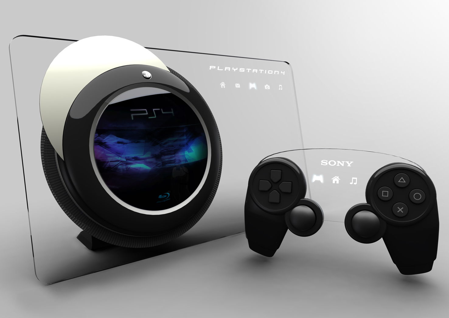 A concept design of the ps4
