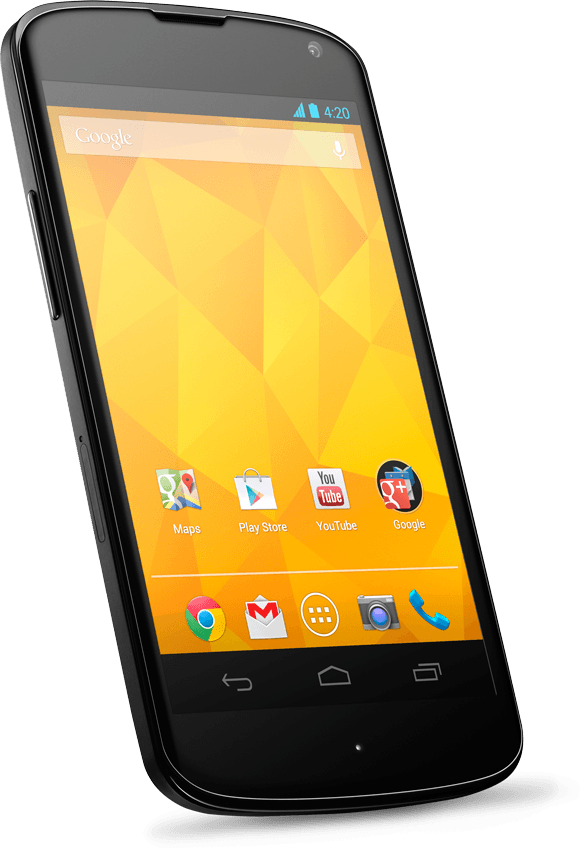 Nexus 4 - front