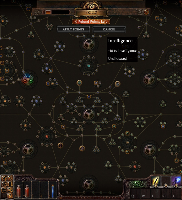 Path of exile skill tree screenshot