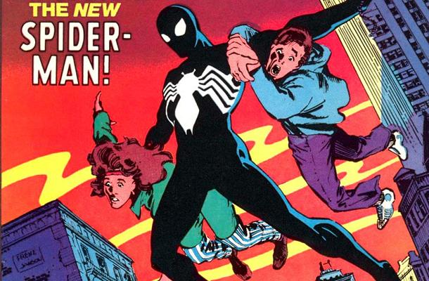 Black suit spider-man