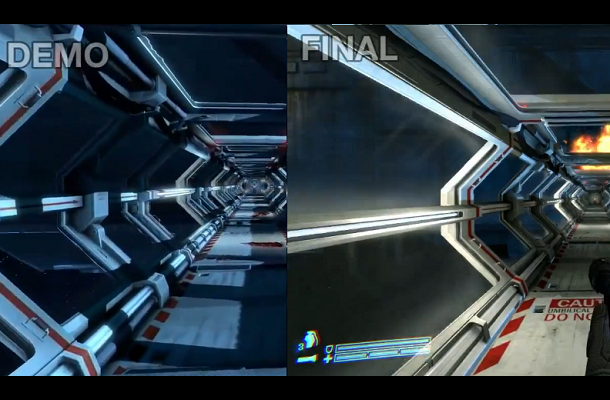 Aliens colonial marines side by side