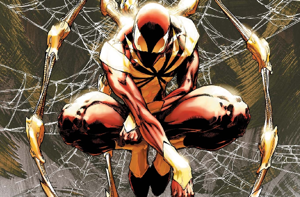 The many faces of spider-man - iron spider-man