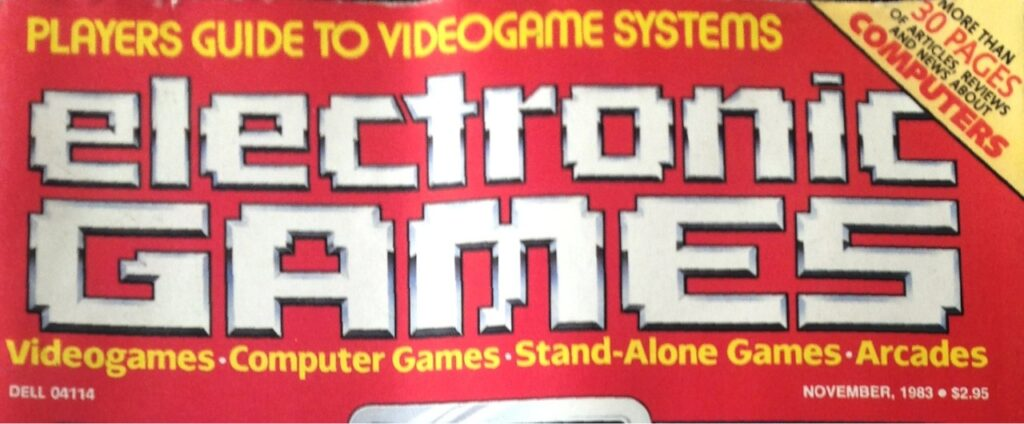 Electronic Games from the 80's