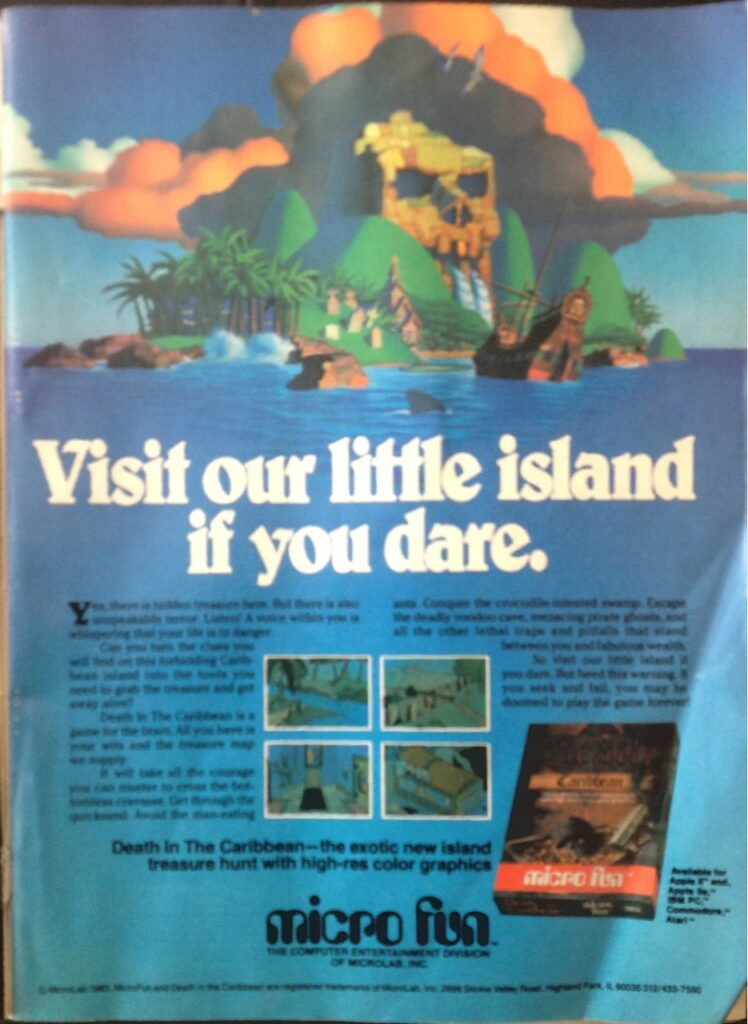 game advert